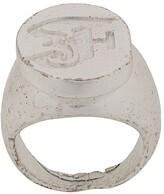 2000s Monogram Ring