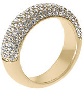 Michael Kors Pave Dome Ring, Golden