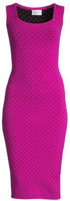 Milly Micro Dot Bodycon Dress