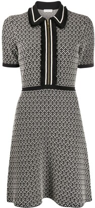 Sandro Fitted Dress