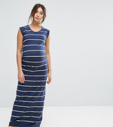 Mama Licious Mama.licious Mamalicious Striped Maxi Dress