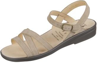 Ganter Women 5-202823 Heels Sandals Beige Size: 7.5 UK