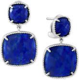 Effy Lapis Lazuli Drop Earrings (19 ct. t.w.) in Sterling Silver