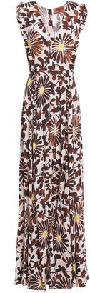 Missoni Floral-print Woven Maxi Dress