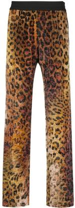 Versace Pop Animalier Print Track Pants