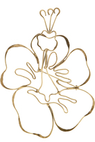 Rosie Assoulin Hibiscus brooch