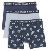 Lucky Brand Cotton Boxer Briefs/3-Pack