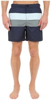 Original Penguin Pieced Stripe Print Fixed Volley Fit