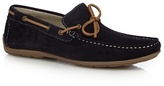 J By Jasper Conran Navy Suede Boat Shoes