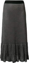 Sonia Rykiel striped skirt