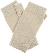 Johnstons Plain cashmere wristwarmers