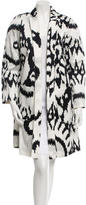 Gianfranco Ferre Printed Knee-Length Jacket