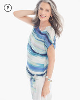 Chico's Spring Stripe Top