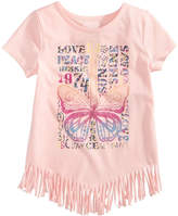 Epic Threads Fringe T-Shirt, Little Girls, Created for Macy's
