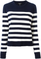 Rag & Bone cashmere striped jumper - women - Cashmere - XS