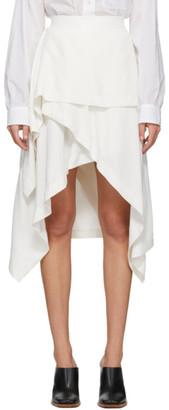 J.W.Anderson Off-White Handkerchief Skirt