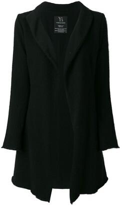 Yohji Yamamoto Pre-Owned knitted long cardigan