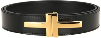 Tom Ford Double T Buckle Belt