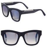 Stella McCartney Falabella Chain 49MM Square Sunglasses