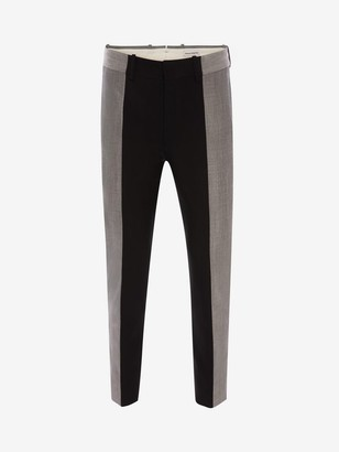 Alexander McQueen Paneled Tailored Pants
