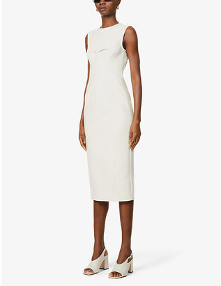 Sportmax Razza stretch-cotton midi dress