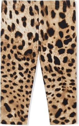 Dolce & Gabbana Kids Leopard-Print Leggings