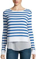 Arizona Long-Sleeve Layered Sweatshirt - Juniors