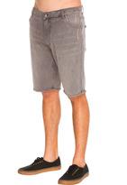 City Beach Rusty Keep Out Denim Shorts
