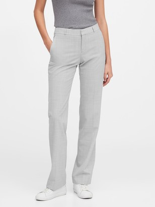 Banana Republic Logan Trouser-Fit Washable Wool-Blend Pant