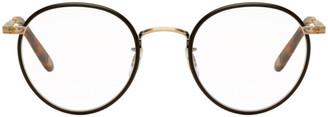 Garrett Leight Black Wilson 49 Glasses