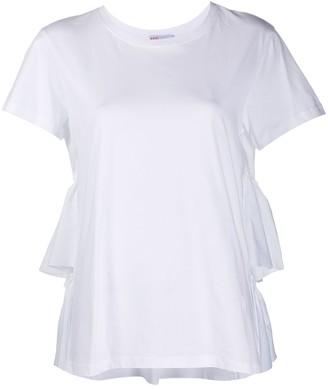 RED Valentino draped short-sleeve T-shirt