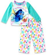 "Disney 2-Piece ""Finding Dory"" Girls Pajama Set in Green"