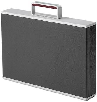 The Webster X Charles Simon Graphite Mackenzie Aluminum Briefcase