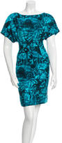 Michael Kors Silk Printed Dress