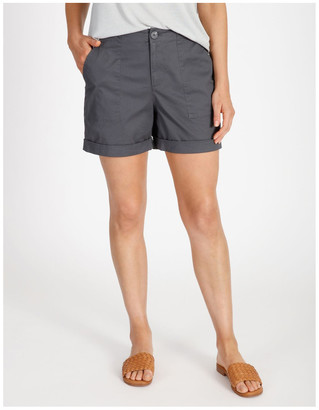 Grab Stitch Detail Chino Short
