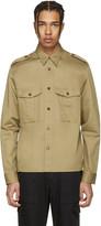 Maison Margiela Beige Military Shirt