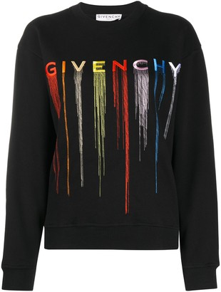 Givenchy Logo-Embroidered Knitted Jumper
