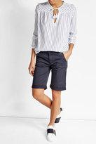 Woolrich Striped Cotton Blouse