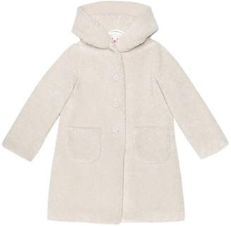 Il Gufo Faux-shearling coat
