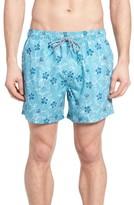 Ted Baker Men's Winda Floral Print Swim Trunks