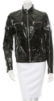 Dolce & Gabbana Patent Leather Moto Jacket