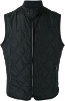 Salvatore Ferragamo quilted gilet - men - Polyester - 48