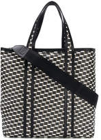 Pierre Hardy canvas cube tote bag