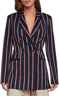 BCBGMAXAZRIA Nautical Striped Blazer