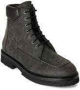 Pierre Hardy Grey Nubuck Hiking Boots