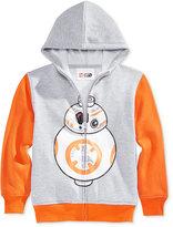 Lego Little Boys' Star Wars BB-8 Zip-Up Hoodie