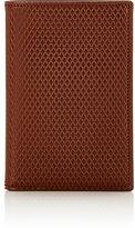 Comme des Garcons Men's Luxury Folding Card Case-BROWN