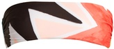 Mara Hoffman Superstar-print bandeau bikini top