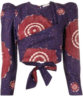Ulla Johnson Eden abstract-print blouse