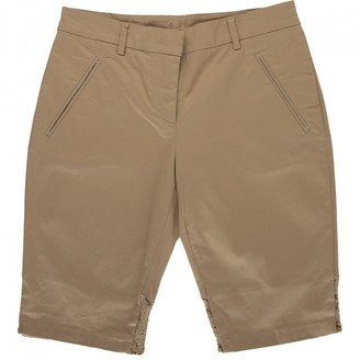 N°21 N21 Camel Cotton Shorts for Women